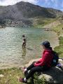Le Lac de l'Oule en circuit