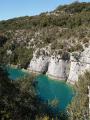 Gorges de Baudinard et Lac de Montpezat
