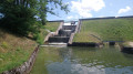 Barrage étang Berthaud, sortie du ruisseau La Fiotte