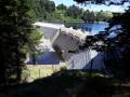 Le tour du barrage du Sapt