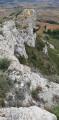 Roque Sestière et Saint-Siméon depuis Boutenac
