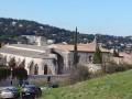 Les bords du Rhône à Villeneuve-lès-Avignon