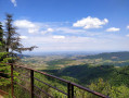 Le belvédère Roche Bois Blanc depuis Lamure-sur-Azergues