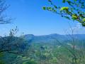 Montagne d'Izieu et Grand Thur depuis Murs