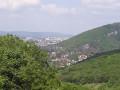 Besançon depuis les hauteurs de Rancenay