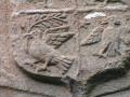 Blason sur la chapelle Saint-Suliau