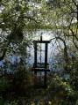 Bonde sur étang