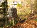 Borne frontière de l'ancienne Abbaye de Lucelle
