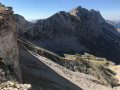 Le Rocher Rond et la Crête des Aiguilles de la Jarjatte