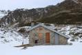 Cabane de Prat Redoun en hiver