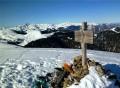 Cimetière Anglo-Canadien - Pic de Douly et Mont Aspet