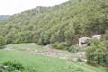 Les anciennes minesde grenat du Costabonne depuis La Preste les Bains