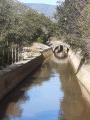 canal d'irrigation et ses petits ponts