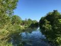 L'ancien canal de la Haute Seine à Barberey