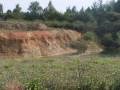 Carrière d'extraction d'argile au Puiset Doré
