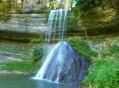 La Pierre-qui-Vire et la cascade de la Combe