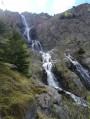 Refuge de l'Alpe du Pin et ses cascades