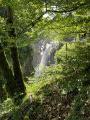 Rivière Saine au long des gorges de la Langouette et de Malvaux