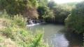 Cascade sur la rivière la Flacière.