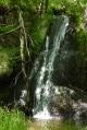 Cascade sur le ruisseau de Pioule