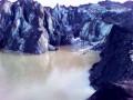 Solheimajökull, la langue glacée d'un monstre de feu