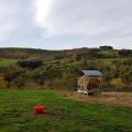 champ sur le plateau de Seyoux