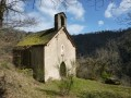 Le Cheval du Roi et la Chapelle Saint-Amans de Cadoule depuis Flauzins