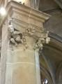 Chapiteau dans l'église d'Andrésy