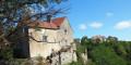 Dans les vignes de Château-Chalon