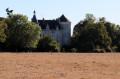 Château d'Aigues Joignant sur les rives de l'Anglin près de Mauvières