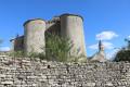 Château d'Exoudun et église Saint edouard