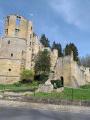 Château de Beaufort : entrée principale