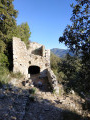 Ruines du Château Renard depuis les Beaumonts