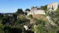 Ruines du vieux village d'Allan et Croix de Siméon