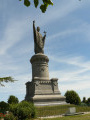 Chatillon sur Marne. Statue d'Urbain II