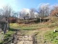 Chemin au-dessus de la Ferme du Bouillon