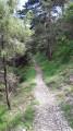 Chemin du retour vers Ste-Agnès