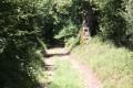 Chemin en descente vers le lieu-dit la Vallée