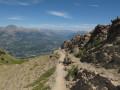 Chemin pour monter au pic de Gleize