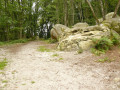 Chemin sableux