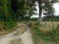 Chemin vers les Penots près d'Azérables