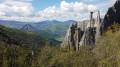 Vallon des Demoiselles Coiffées et Mont Colombis