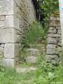 Escalier en pierres du Limousin