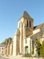 Clocher de l'église de Saint-Vrain