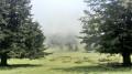 Clôt des Artigous dans les nuages