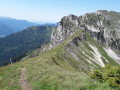 Dôme de Bellefond et Scia depuis le Mollard