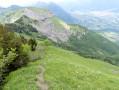 Col de la Fougère et le Grand Roc