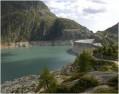 Col du Passet (1953m) et barrage d'Emosson (Suisse)