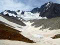 Le Col du Soufre pour un belvédère sur le glacier de Gébroulaz