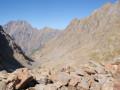 Colle del Chiapous: descente sur le Rifugio Morelli-Buzzi